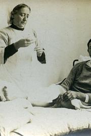 Infirmière à l'arrière du front 1914-1918
